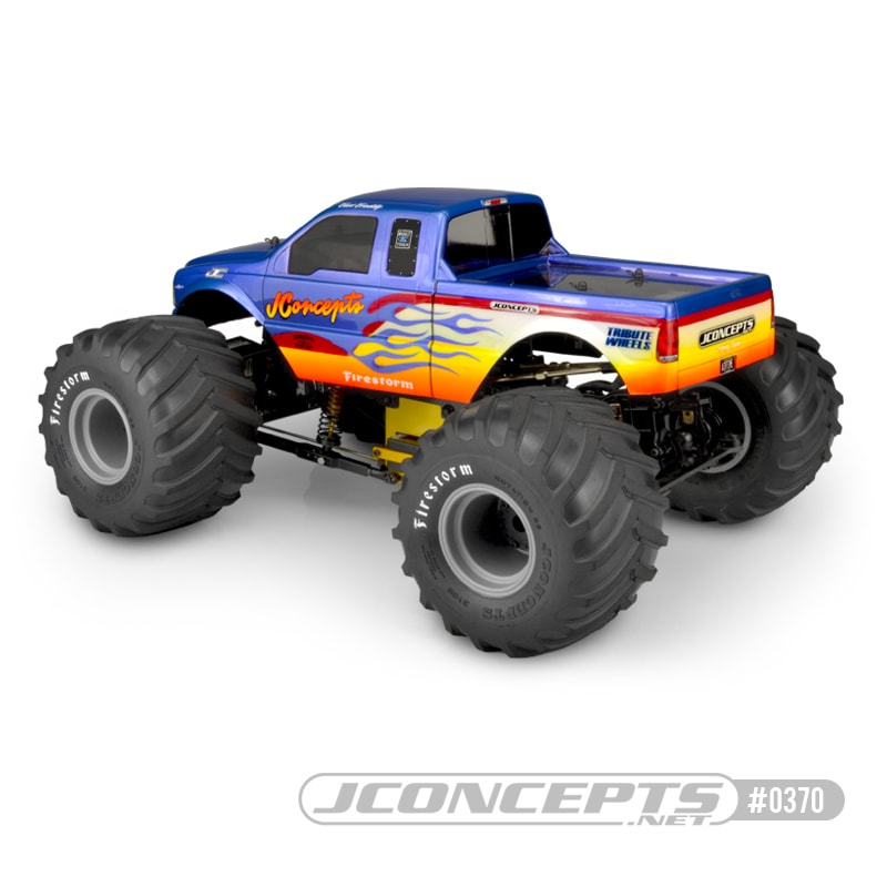 JConcepts 2005 Ford F250 Monster Truck Body - Rear