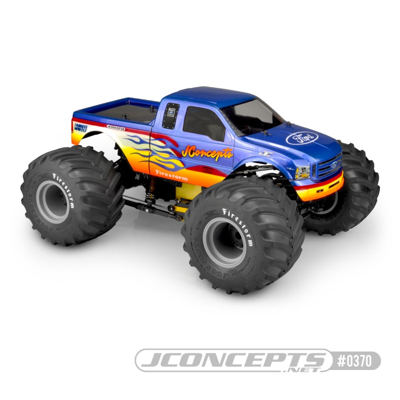 JConcepts 2005 Ford F-250 Super Duty Monster Truck Body