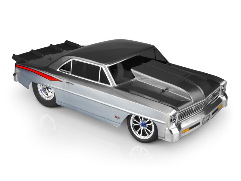 JConcepts 1966 Chevy Nova II V2 1/10-scale Dragster Body