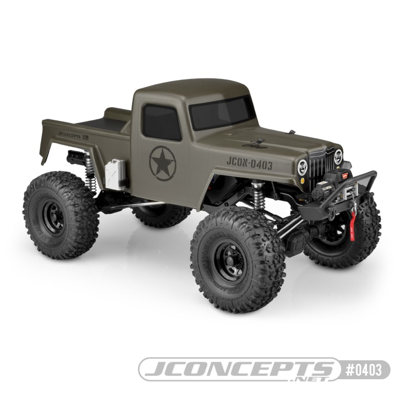 """Turn Your Crawler into a """"Creep"""" with JConcepts Latest Trail Truck Body"""