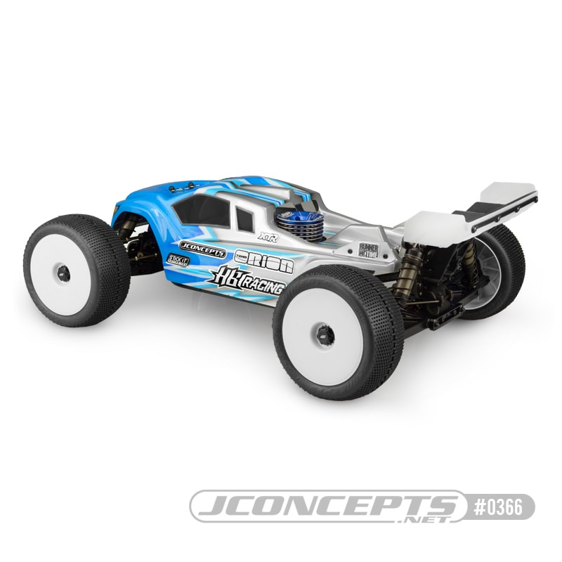 JConcepts HB Racing D817T Finnisher Body - Rear
