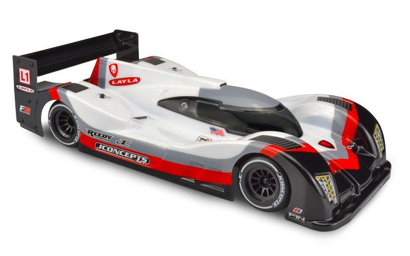 "Check Out the Racy L1 ""Layla"" LMP Body from JConcepts"