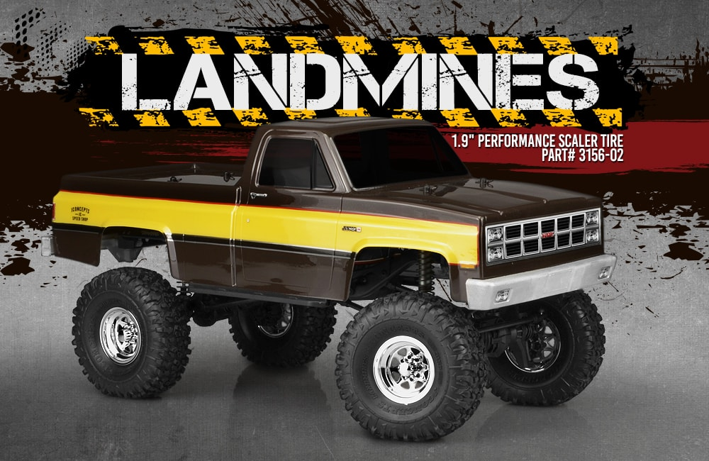 JConcepts Landmines Performance Scaler Tires - Mounted
