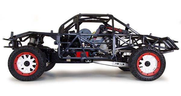 Kraken Vekta 5TT - Chassis Side