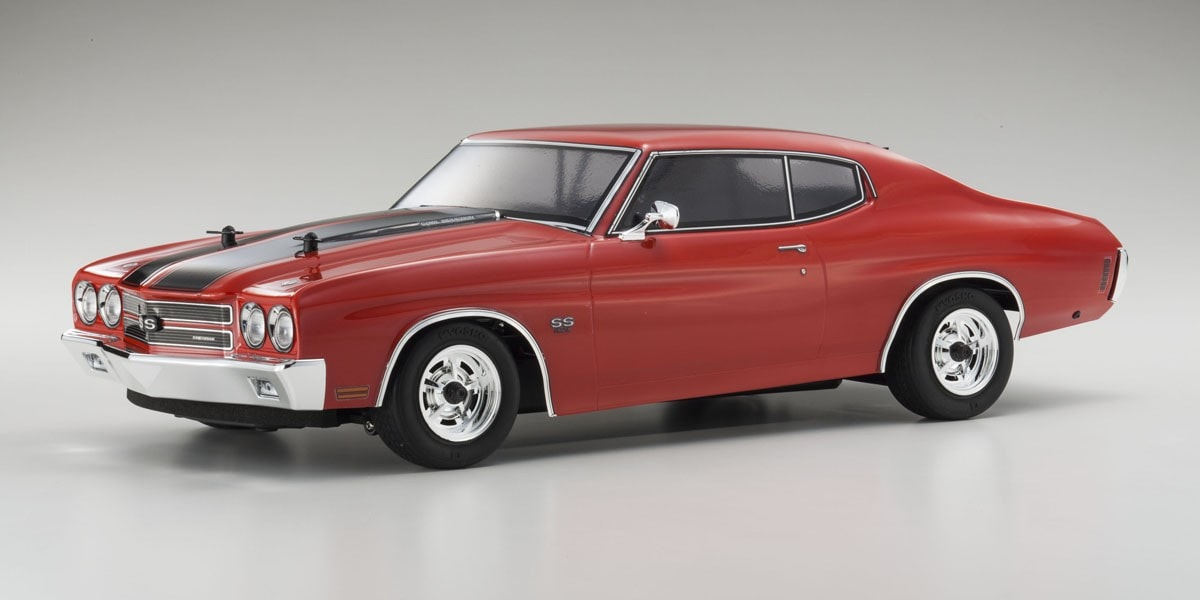 Kyosho Shows Off Muscle with Their 1970 Chevelle