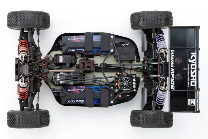 Kyosho Inferno MP10e Buggy Kit - Chassis Top