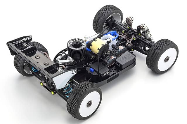 Kyosho Inferno MP9 TKI4 10th Anniversary SE - Chassis