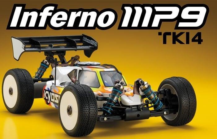Kyosho Inferno MP9 TK14 Nitro Buggy