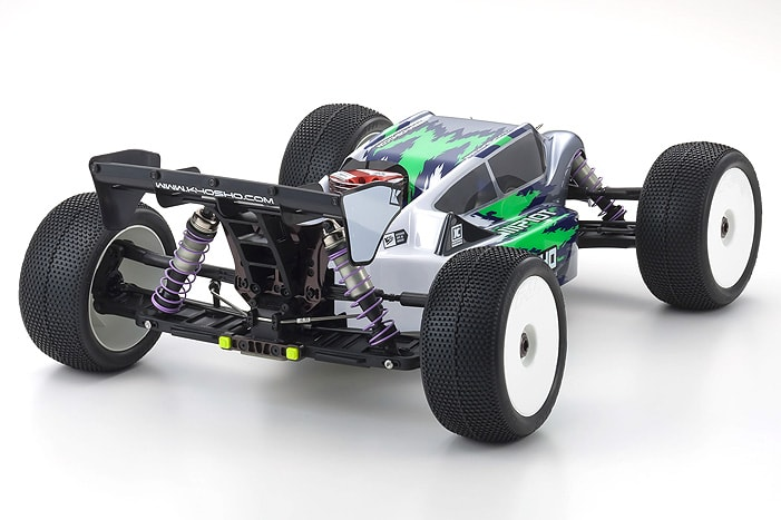 Kyosho MP10T Nitro-powered Truggy Kit - REar