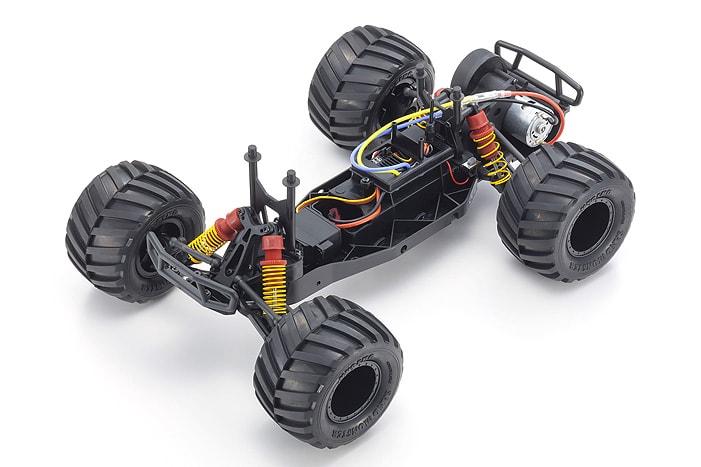 Kyosho Monster Tracker 2 Monster Truck - Chassis