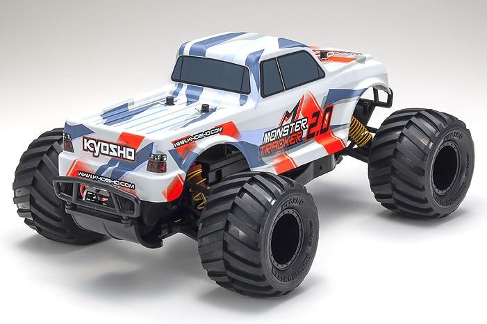 Kyosho Monster Tracker 2 Monster Truck - Rear