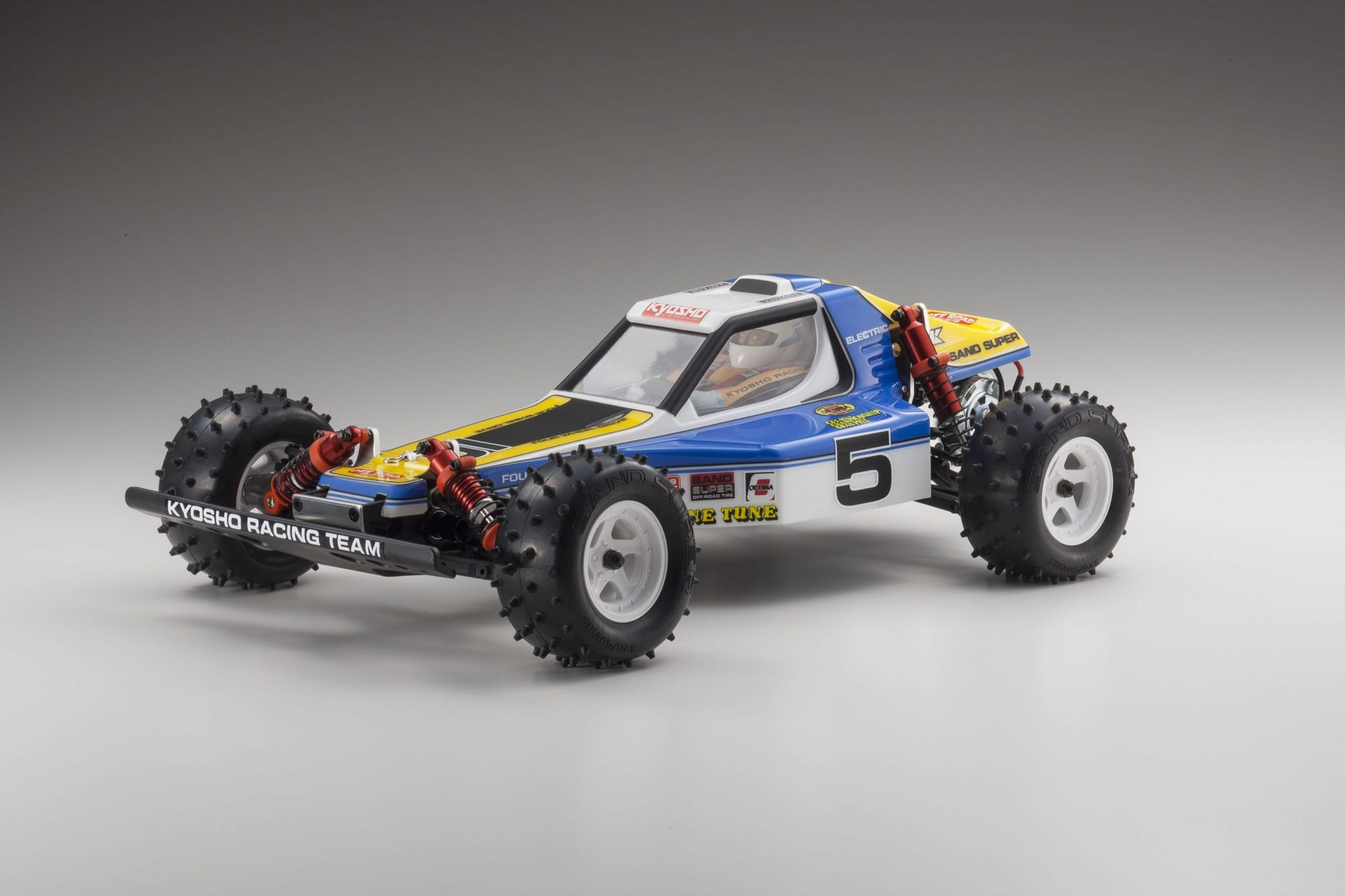 Kyosho Re-releases the Optima 4WD Off-road Buggy Kit - RC Newb