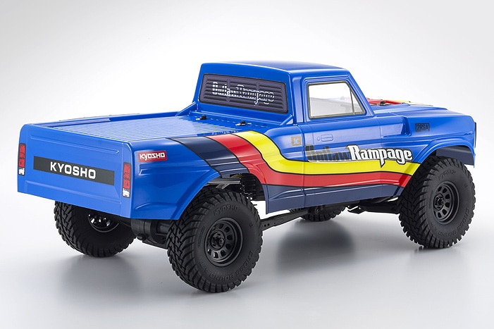 Kyosho Outlaw Rampage - Rear