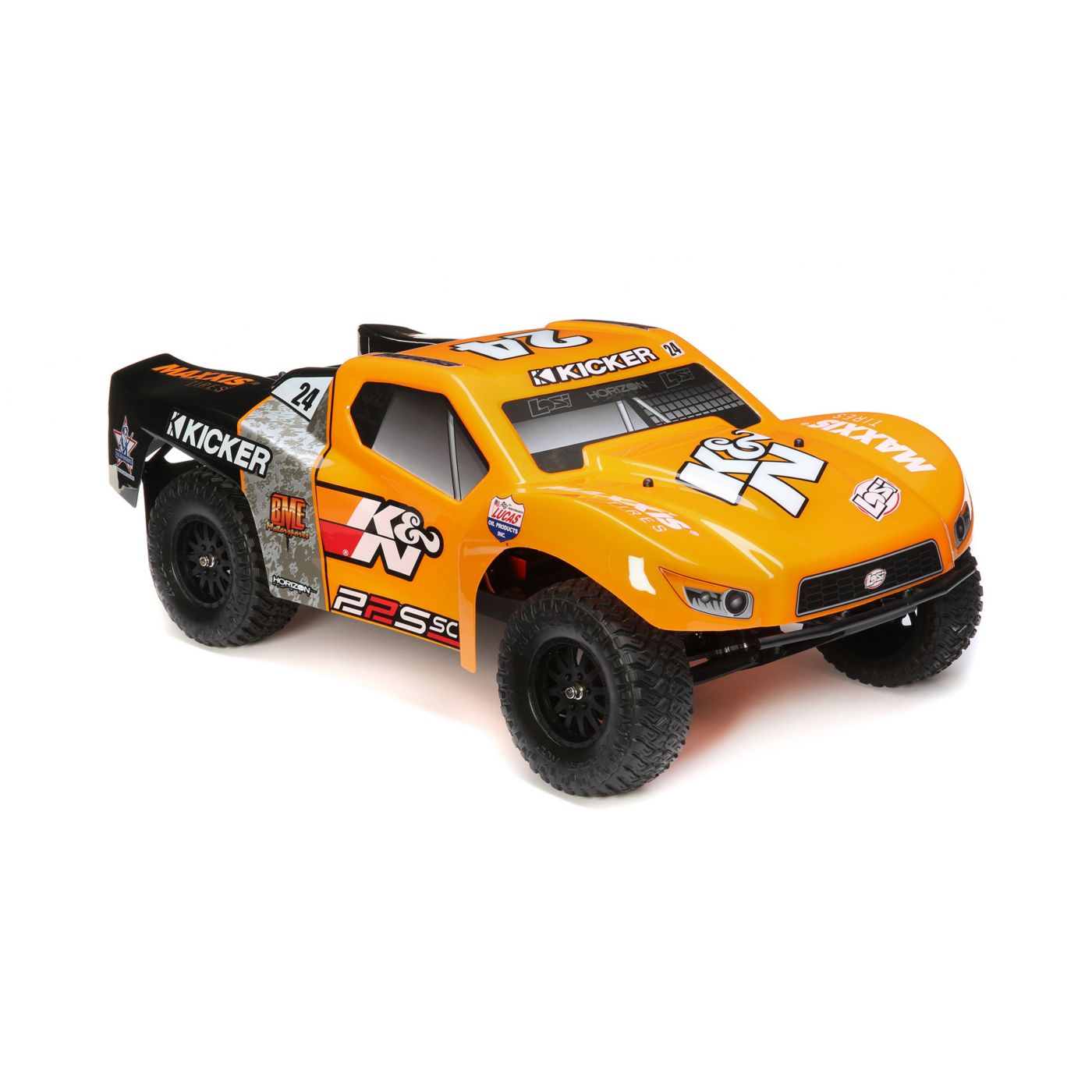 Losi 22S SCT K&N - Chassis Side