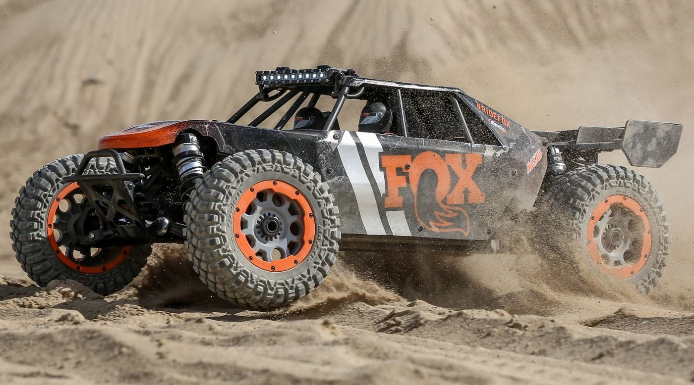 Showtime: Losi's DBXL-E 2.0 Hits the Dunes [Video]