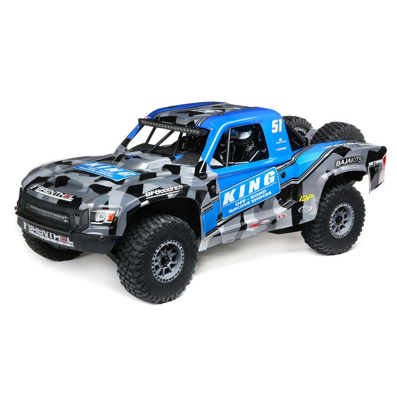 Go Big with Losi's Super Baja Rey 2.0 Brushless RTR Desert Truck