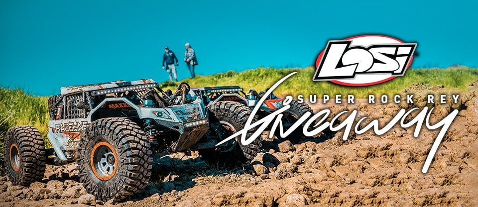 One Big Deal: Enter to Win a Losi Super Rock Rey from AMain Hobbies