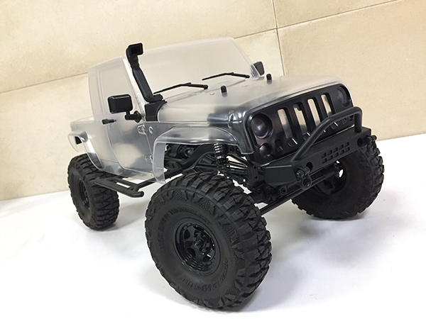 MST CFX-W JP1 Crawler Kit - Clear Body