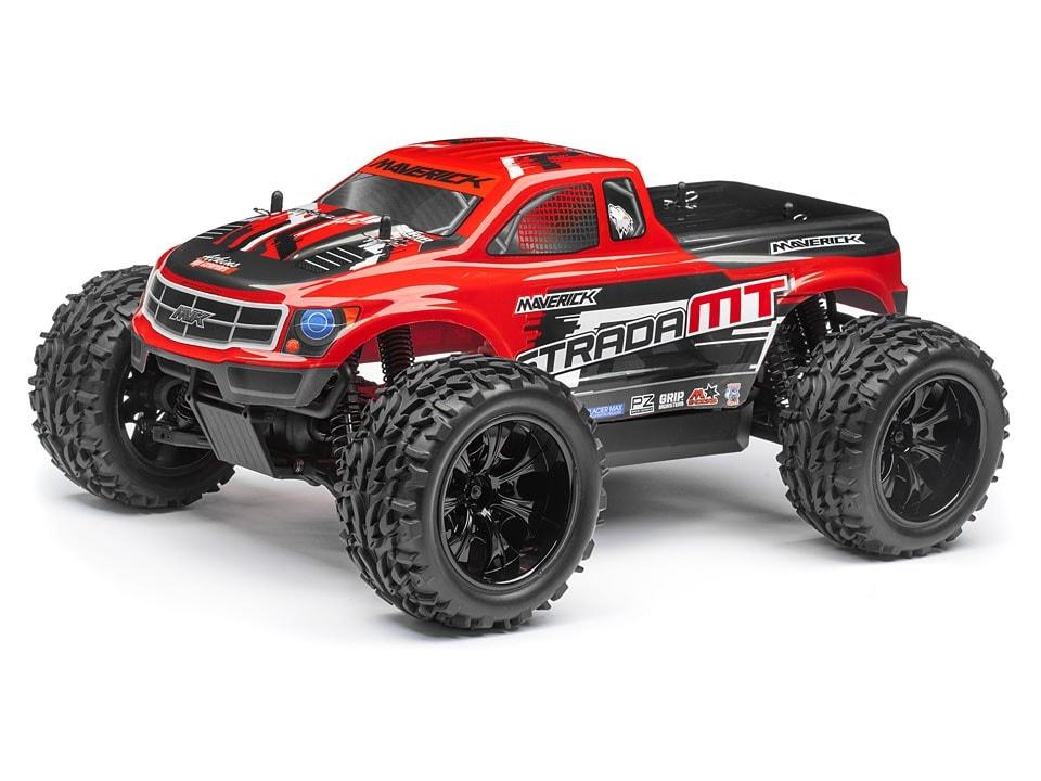 Maverick Strada Red MT Monster Truck