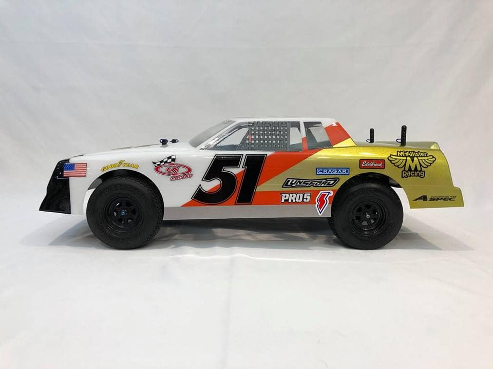 McAllister Racing Fat Boy Street Stock Body - Side