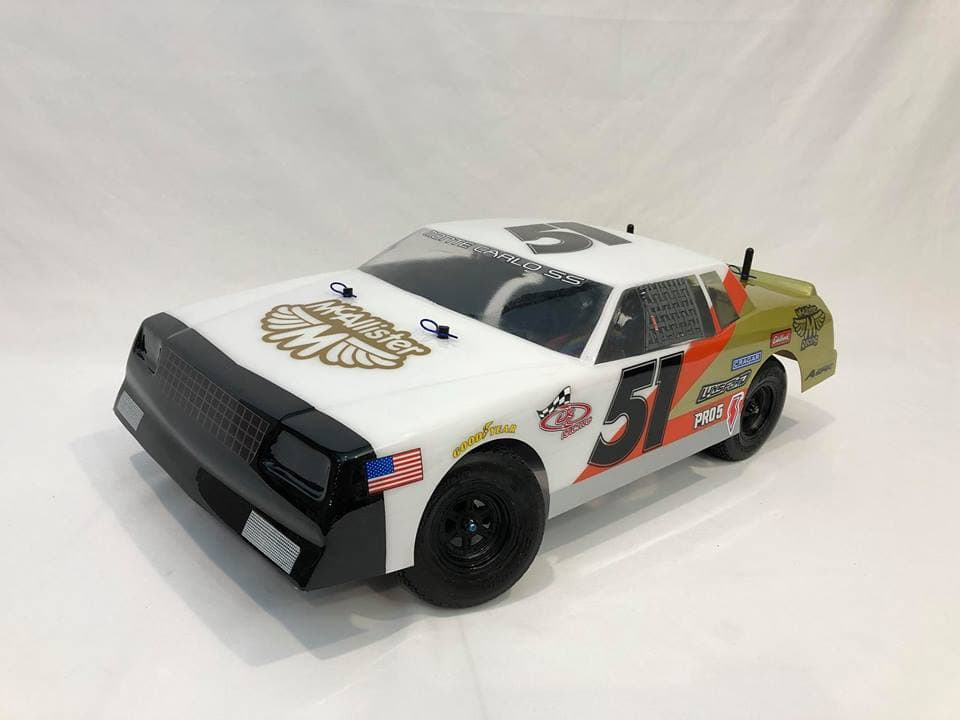 "McAllister Racing ""Fat Boy"" 80's Monte Carlo Street Stock Body"