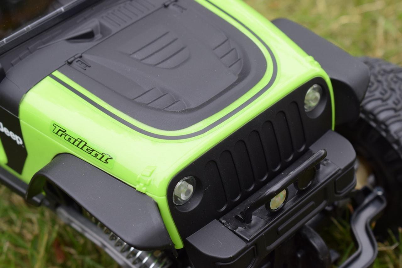 New Bright DashCam Jeep Trailcat - Design Details