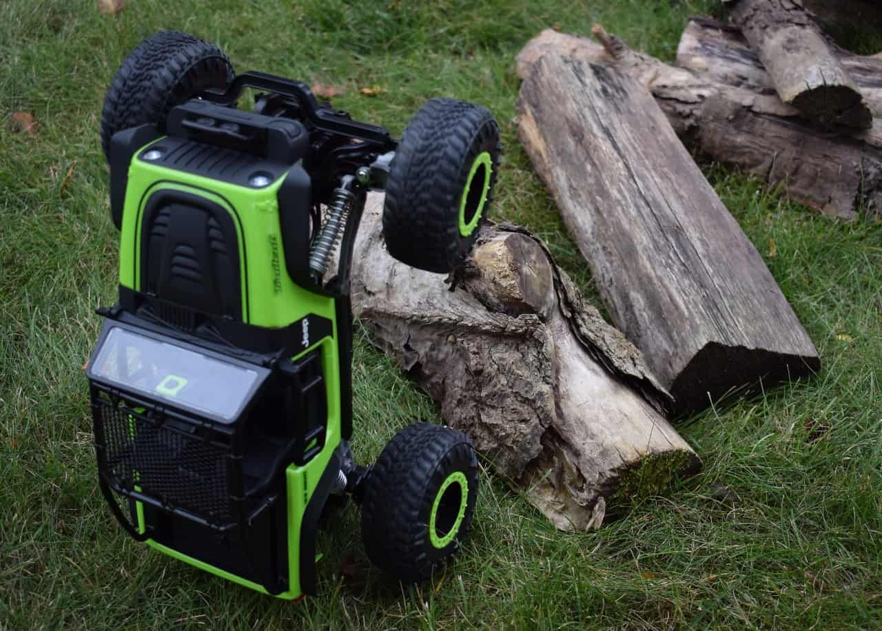 New Bright RC DashCam Jeep Trailcat - Smash