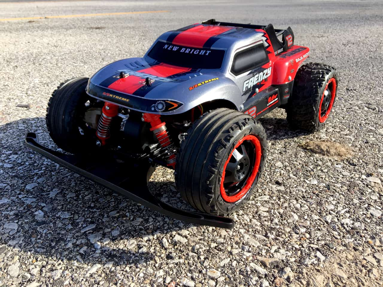 First Impressions: New Bright RC Frenzy 1/10 Brushless Stadium Truck
