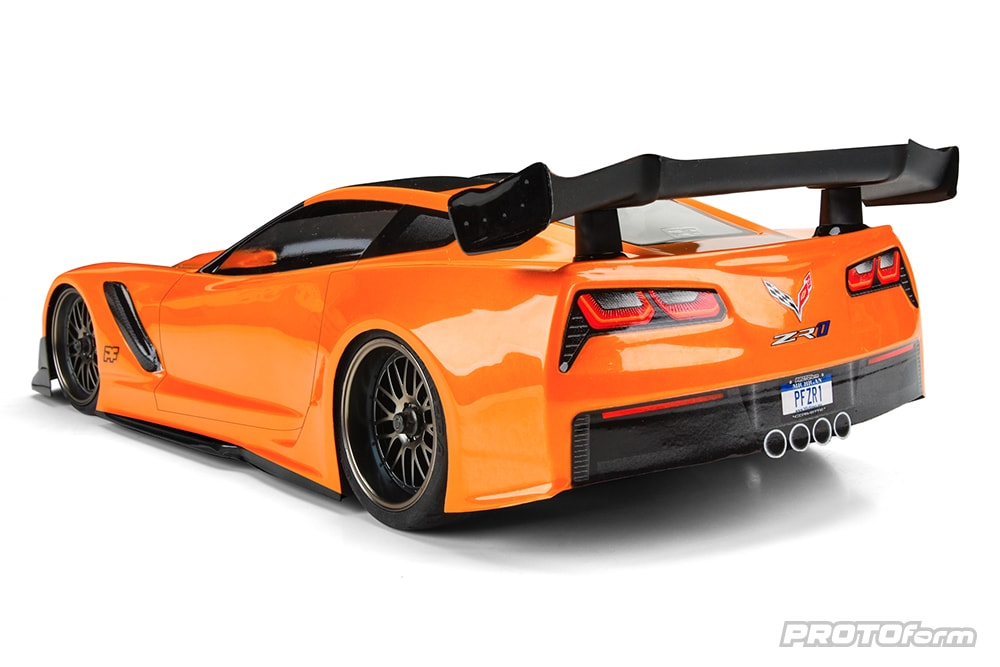 PROTOform Chevrolet Corvette ZR1 Body - Rear