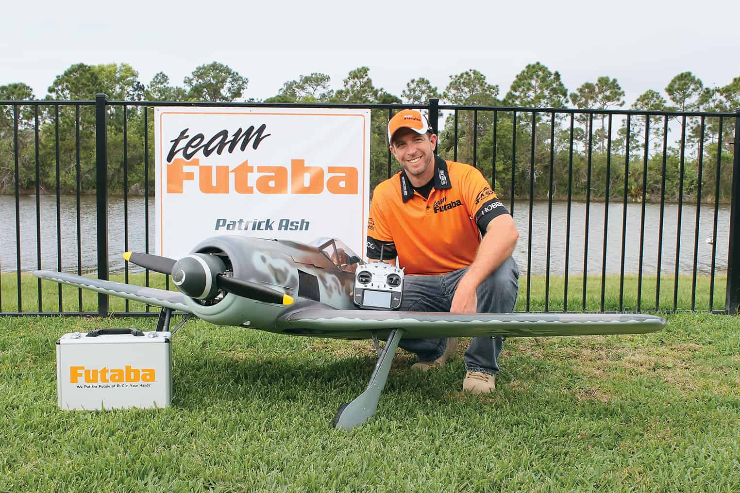 Pilot and Scale Air Enthusiast Patrick Ash Joins Team Futaba