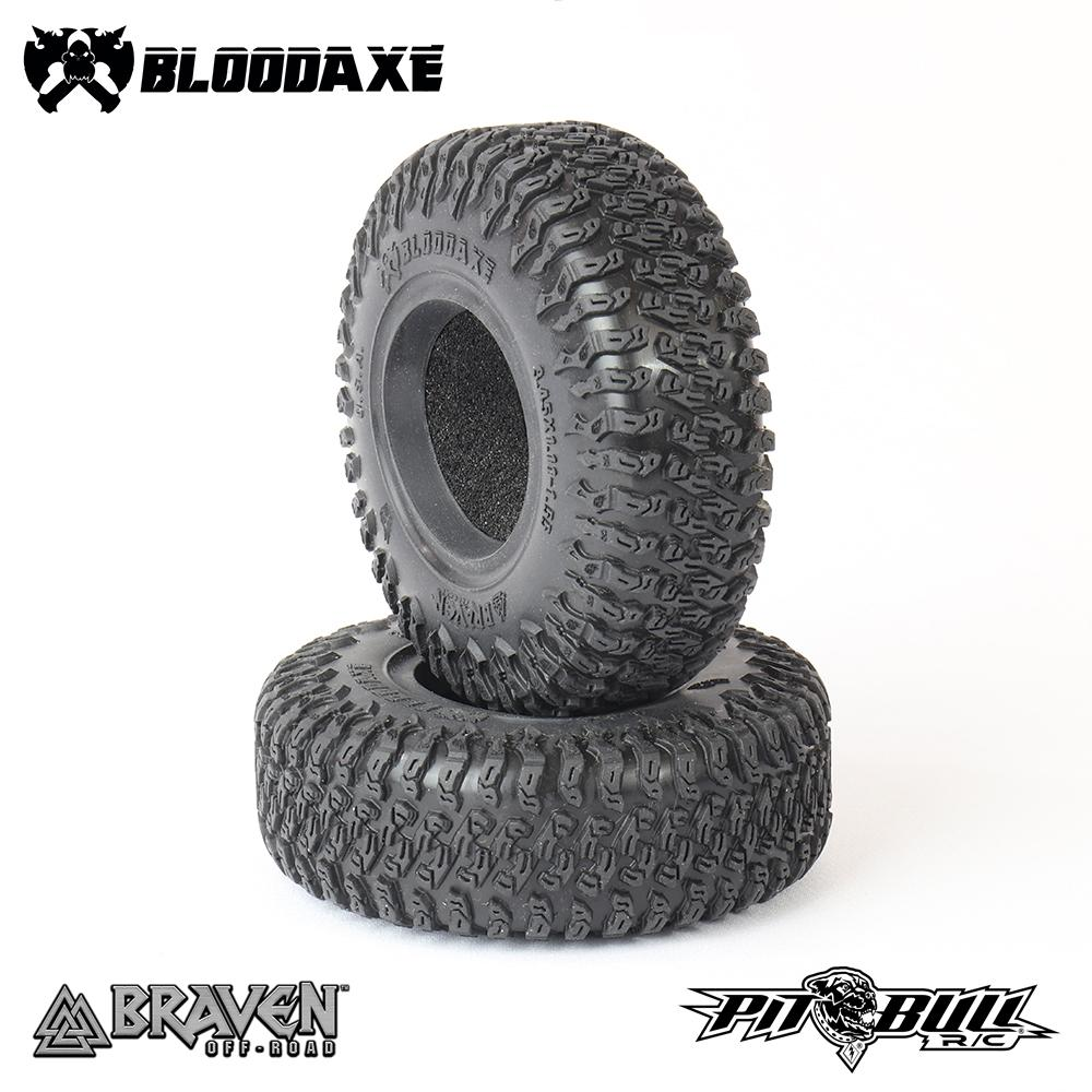 Pit Bull Braven Bloodaxe 1.9″ R/C Crawler Tires