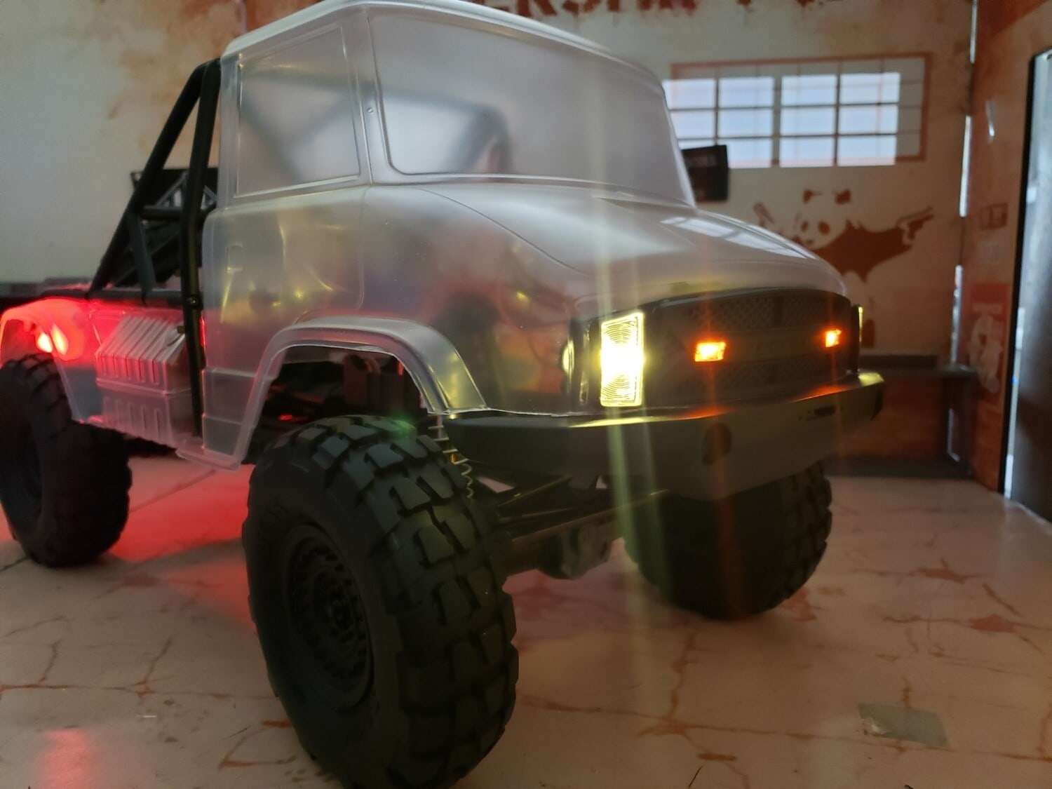 Powershift RC Releases LED Lighting Options for the Axial UMG10 Kit