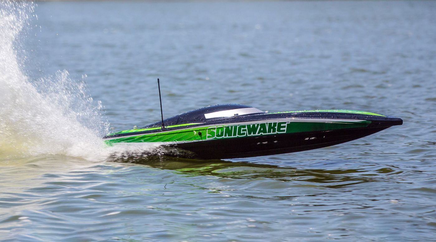 Pro Boat Sonic Wake RC Boat - On the Water