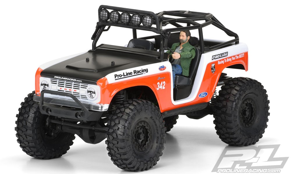 Pro-Line's 1966 Ford Bronco Body for the Axial SCX10 Deadbolt