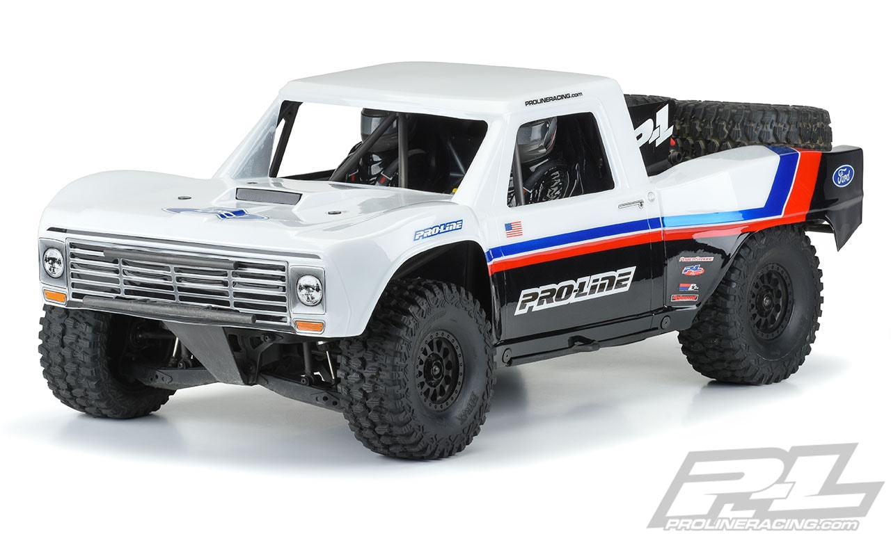 Pro-Line Pre-cut 1967 Ford F-100 Body for the Traxxas UDR
