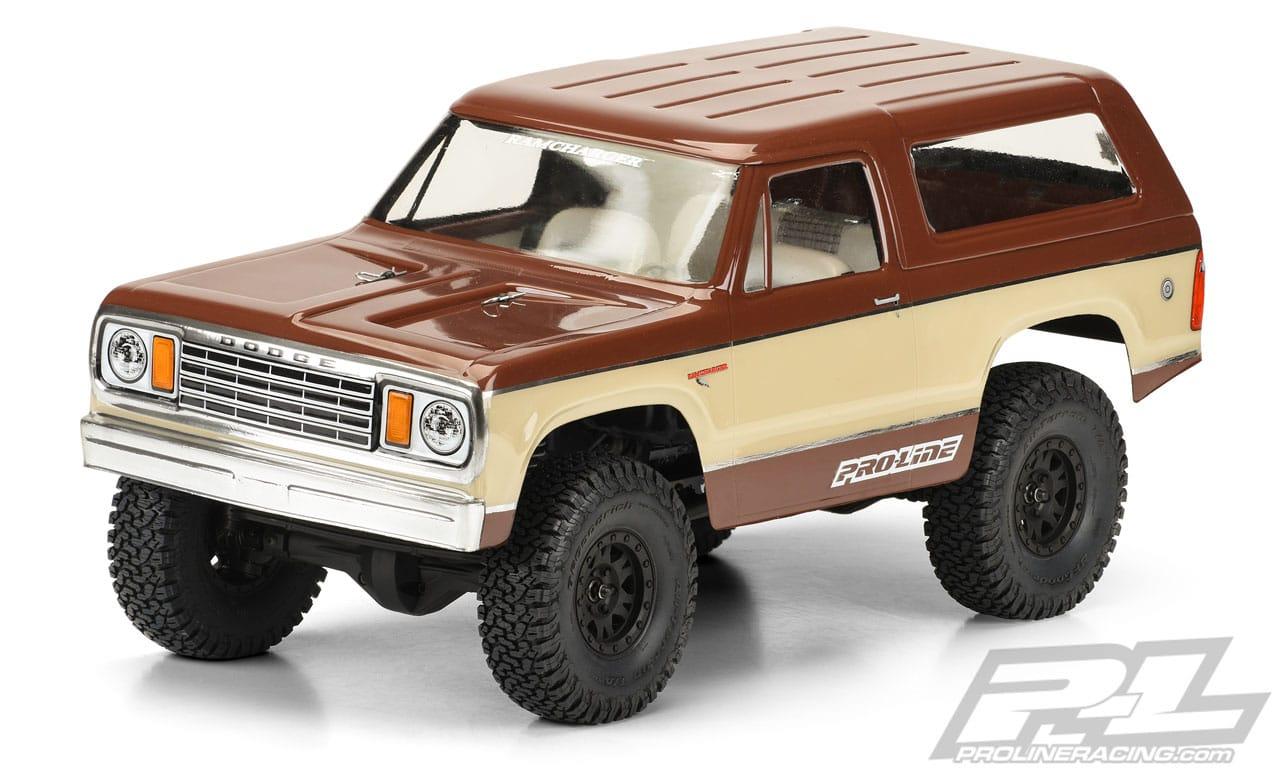 Pro-Line 1977 Dodge Ramcharger Body - Capper