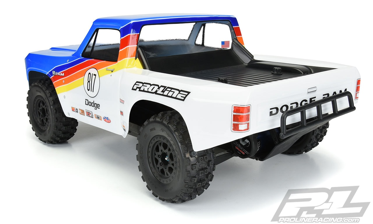 Pro-Line 1984 Dodge Ram Short Course Truck Body - Rear