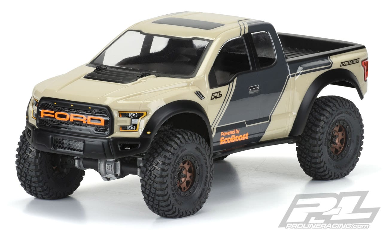 Pro-Line 2017 Ford F-150 Raptor R/C Crawler Body