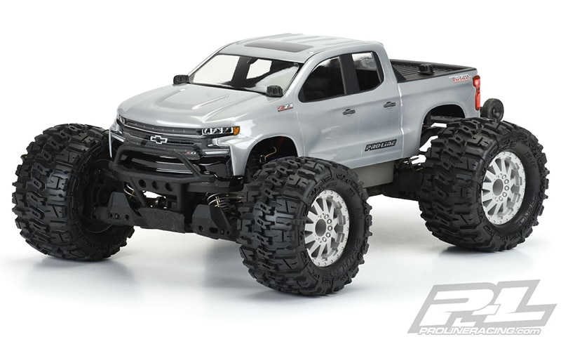 Show the Trail Who's in Charge with Pro-Line's 2019 Chevy Silverado Z71 Trail Boss Body