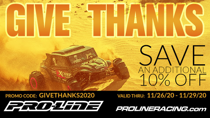 Load Your Plate with Savings During Pro-Line's Thanksgiving Sale