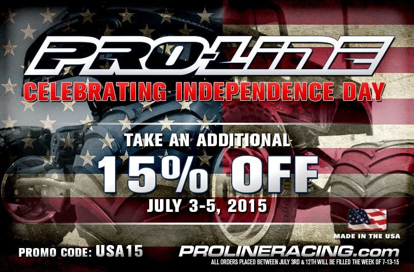 Pro-Line 4th of July Sale