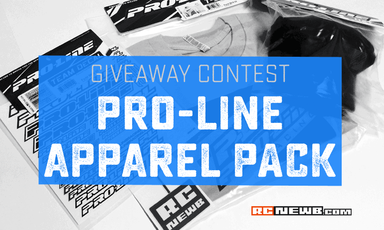 """Enter to Win: RC Newb's Pro-Line """"Apparel Pack"""" Contest"""