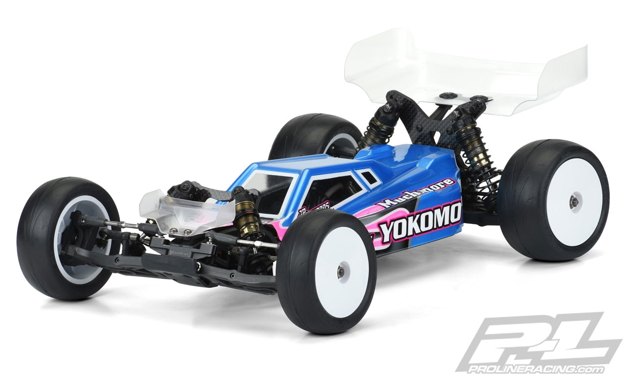 Pro-Line Axis Light Weight Clear Body for the Yokomo YZ-2 Competition Buggy