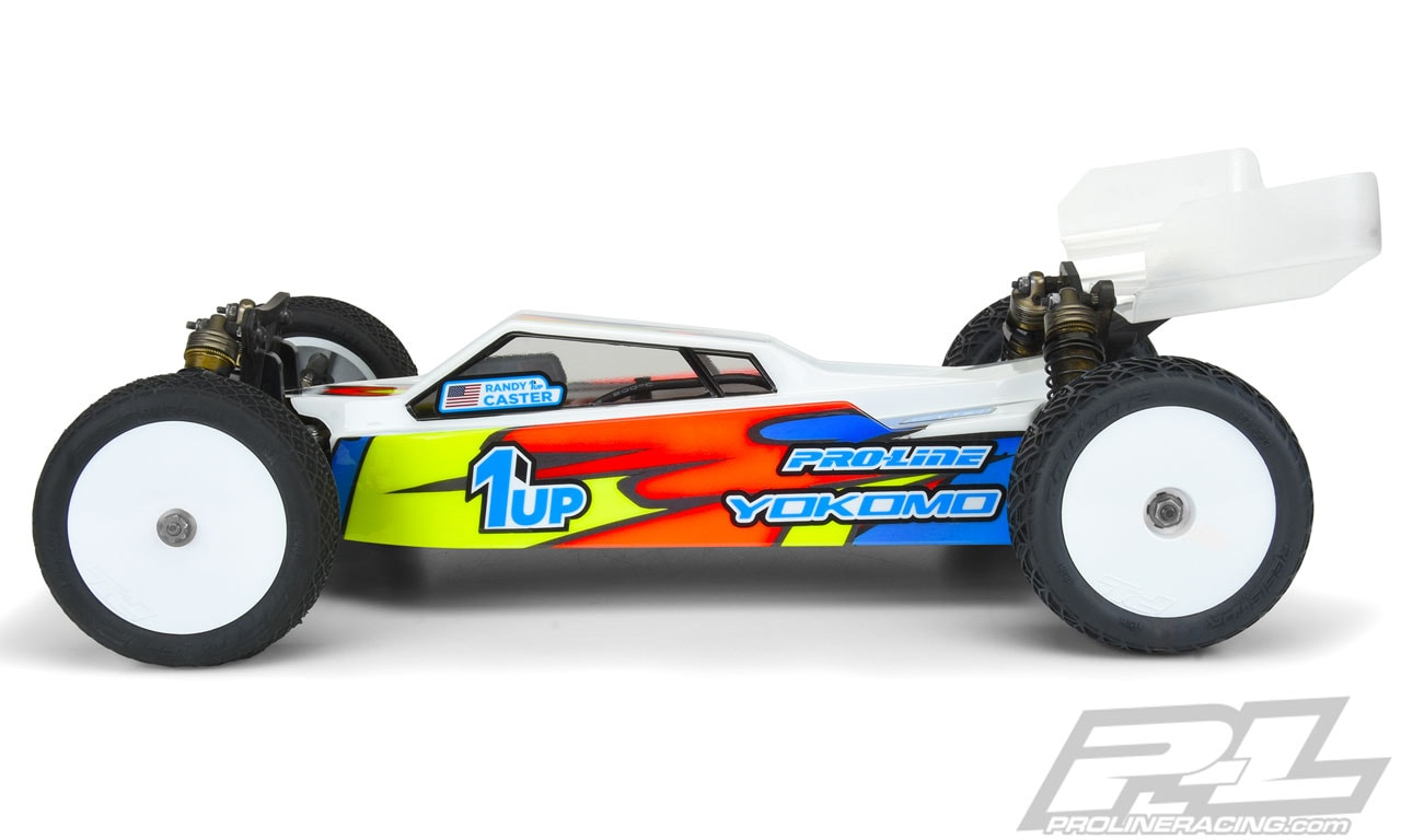 Pro-Line Axis Light Weight Clear Body for the Yokomo YZ-4 - Side