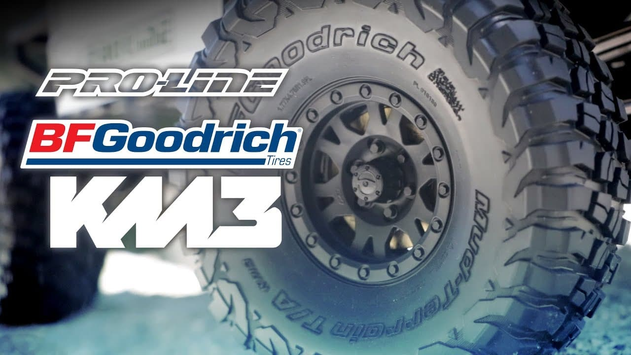 See Them in Action: Pro-Line's BFGoodrich Mud Terrain T/A KM3 Tires