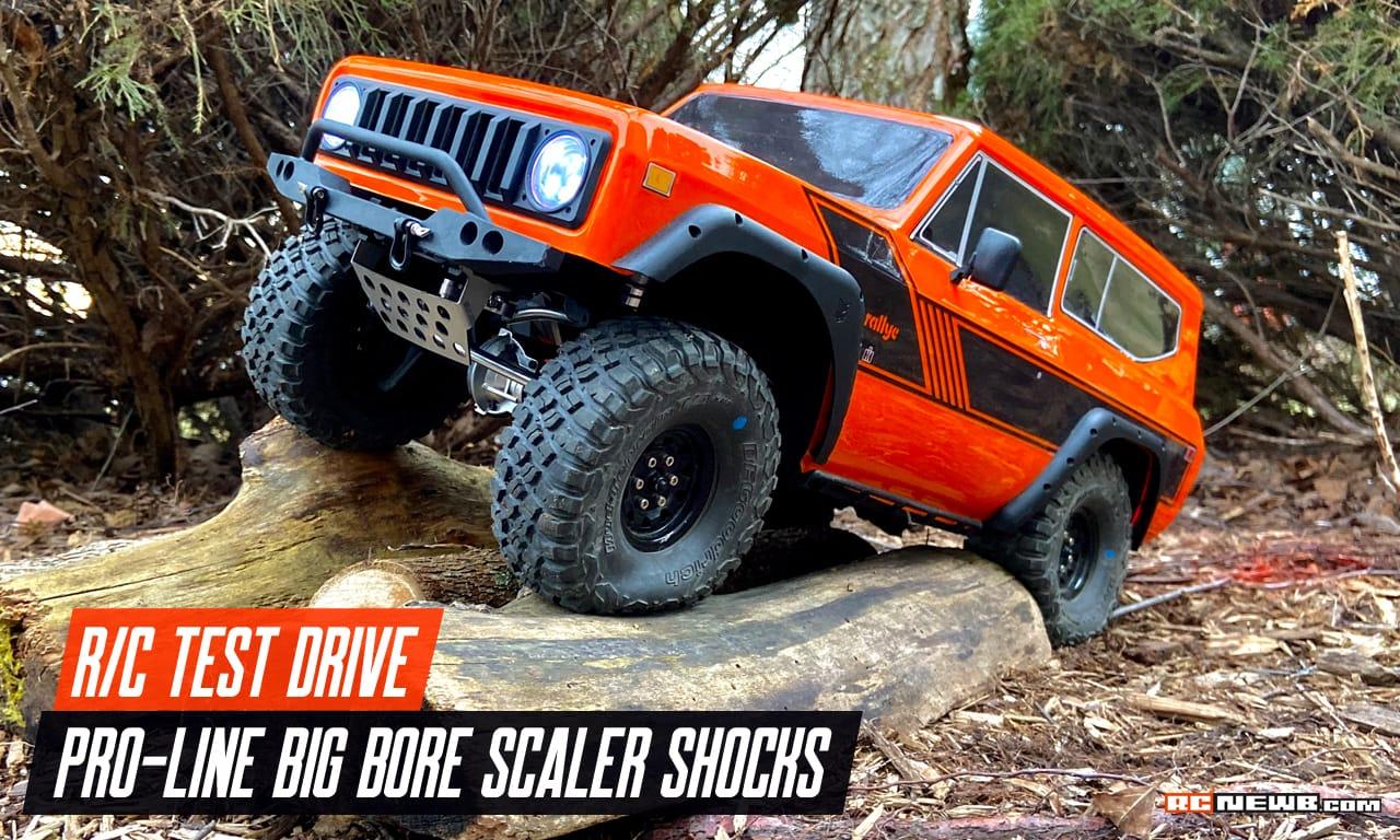 Pro-Line Big Bore Scaler Shock Shakedown [Video]