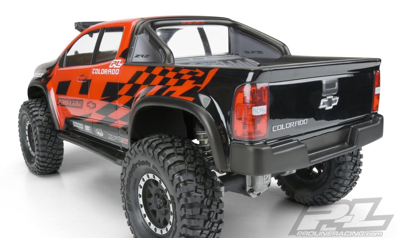 Pro-Line Chevrolet Colorado SCX10II Body - Rear