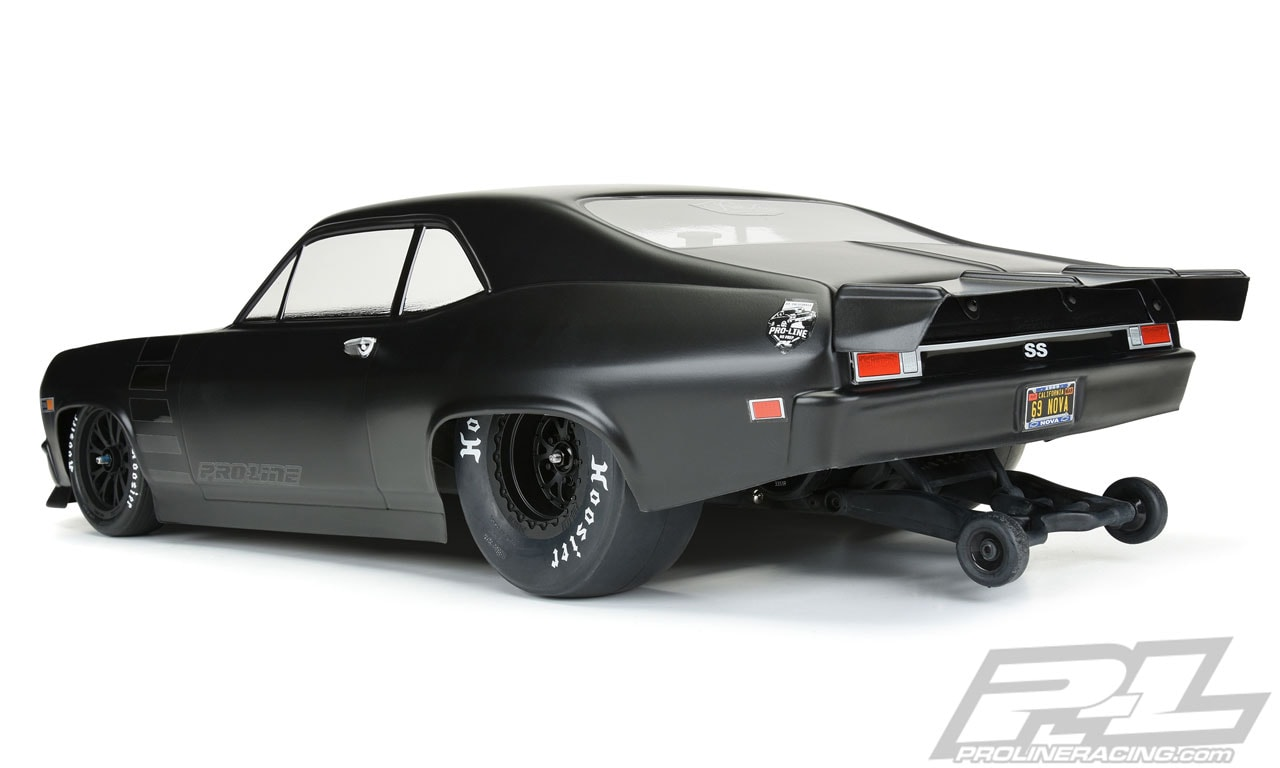 Pro-Line Chevy Nova Drag Car Body - Rear