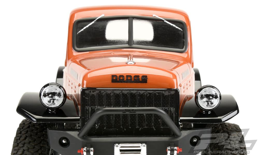 Pro-Line Dodge Power Wagon Scale RC Body - Front
