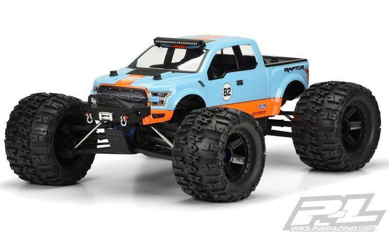 2017 Ford Raptor Body for Monster Trucks